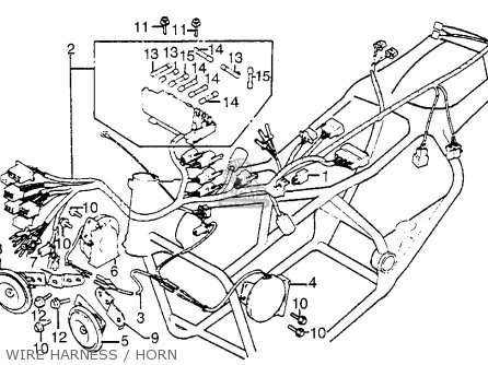 1982 Honda Goldwing Gl1200 Aspencade Wiring Diagram Usa