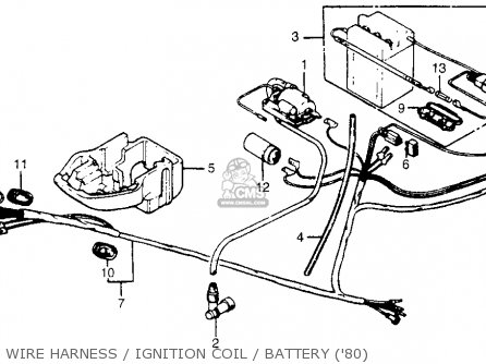 Wonderful 1982 honda express wiring diagram photos best image battery assy fits nc50 express 1983 d usa order at cmsnl asfbconference2016 Image collections
