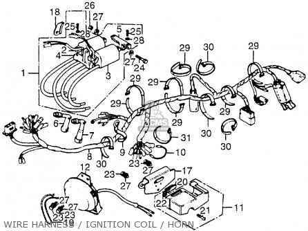 32100390000 Harness Wire Honda