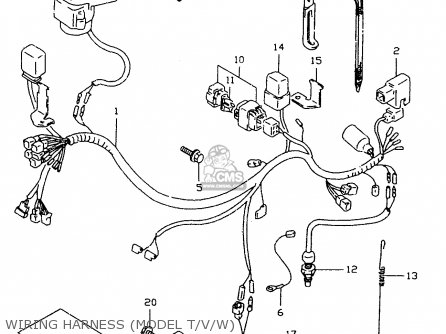 harness,wiring dr350se 1998 (x) 3661015da0 on Raptor 350 Wiring Diagram for harness, wiring photo at suzuki dr350 wiring diagram
