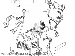 Harness, Wiring No.1 photo