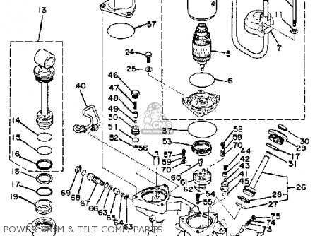 Yamaha 115 Etk 1985 Parts Lists And Schematics