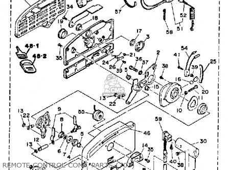 yamaha 115 130 etg 1988 parts lists and schematics. Black Bedroom Furniture Sets. Home Design Ideas