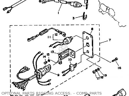 1986 Evinrude Wiring Diagram on yamaha ignition switch wiring diagram