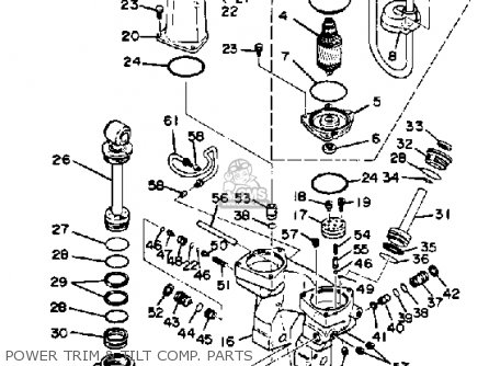 Yamaha 150 175 200 Etln Etxn 1984 Parts Lists And Schematics