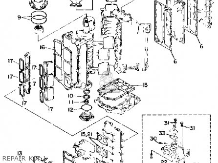 Yamaha 703 Trim Switch