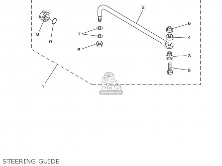Yamaha 150 175try 2000 Steering Guide