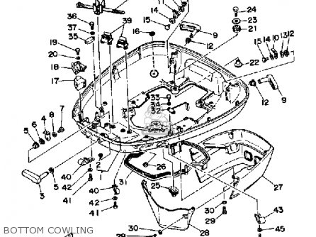 Yamaha 150f Pro V 1989 Parts Lists And Schematics