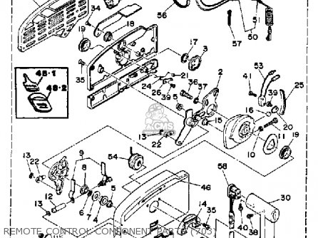 Yamaha 225trq 1992 Parts Lists And Schematics