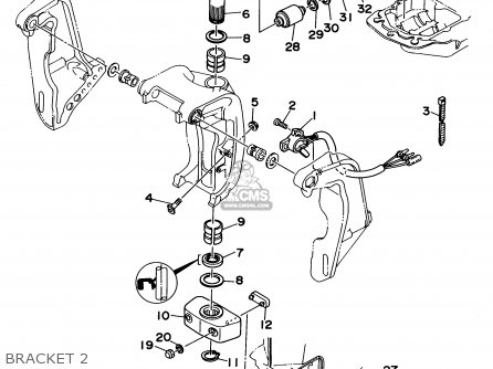 Yamaha 225trs V 6std 2 6l 1994 Parts Lists And Schematics