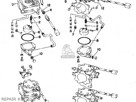 Yamaha 225trt l225trt 1995 Repair Kit 2