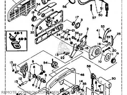 Yamaha 250trp 1991 Parts Lists And Schematics