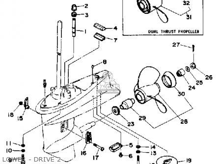 yamaha 30d 1990  1991 parts list partsmanual partsfiche kawasaki ex500 wiring diagram