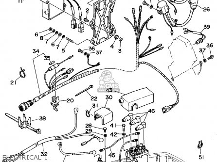 Yamaha 70trs 1994 Parts Lists And Schematics