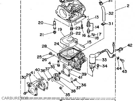 Yamaha 90trs 1994 Parts Lists And Schematics