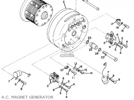 Yamaha As2c 1969 Usa A c  Magnet Generator