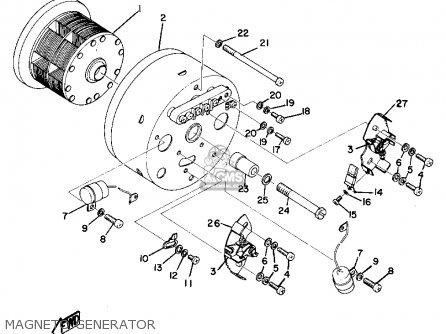 Yamaha As2c 1969 Usa Magneto Generator