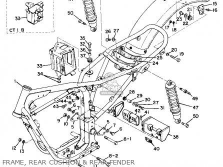yamaha at1b 1970 usa parts list partsmanual partsfiche. Black Bedroom Furniture Sets. Home Design Ideas