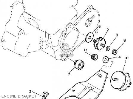 yamaha br250k bravo 1985/1986 parts lists and schematics yamaha xt350 wiring diagram #9
