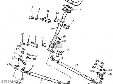 yamaha br250k bravo 1985/1986 parts lists and schematics yamaha bravo wiring diagram yamaha tach wiring diagram