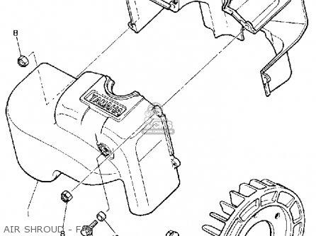 Yamaha Br250t Bravo 1993 Parts Lists And Schematics