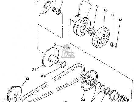 Yamaha Riva Jog Parts