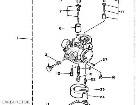 Yamaha Ce50et 1987 Riva Jog Parts Lists And Schematics