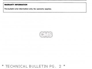 Yamaha Cg50eu 1988   Technical Bulletin Pg   2