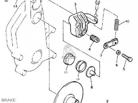 Yamaha Cs340en Ovation 1989 Brake