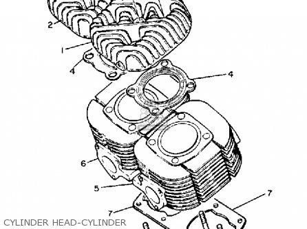 Yamaha Cs340en Ovation 1989 Cylinder Head-cylinder