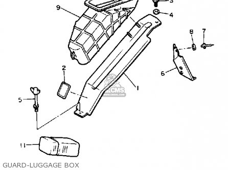 Yamaha Cs340en Ovation 1989 Guard-luggage Box