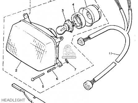 Yamaha Cs340en Ovation 1989 Headlight