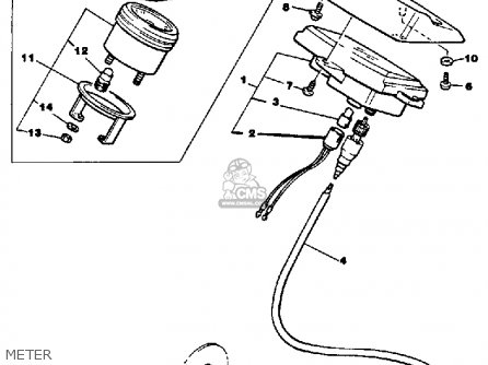 Yamaha Cs340en Ovation 1989 Meter