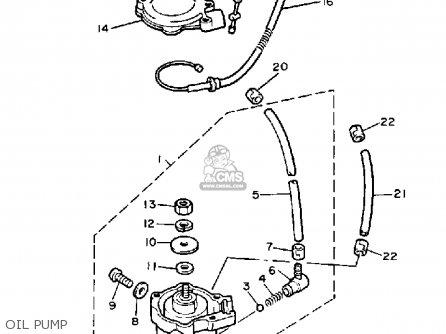 Yamaha Cs340en Ovation 1989 Oil Pump