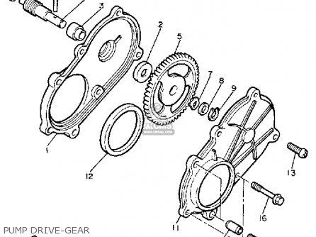 Yamaha Cs340en Ovation 1989 Pump Drive-gear