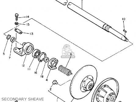 Yamaha Cs340en Ovation 1989 Secondary Sheave
