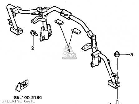 Yamaha Cs340en Ovation 1989 Steering Gate