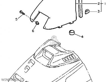 Yamaha Cs340en Ovation 1989 Windshield