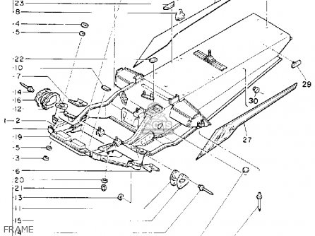 Yamaha Cs340et Ovation 1993 Frame