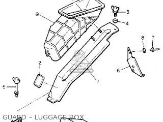Yamaha Cs340et Ovation 1993 Guard - Luggage Box