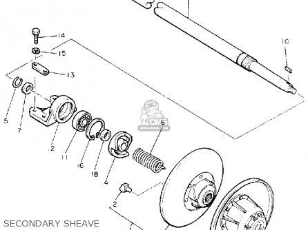 Yamaha Cs340et Ovation 1993 Secondary Sheave