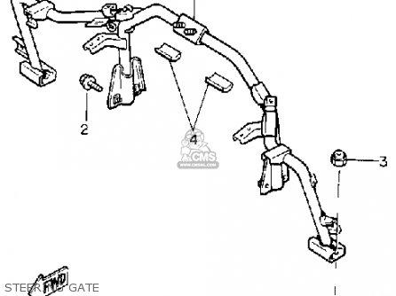 Yamaha Cs340et Ovation 1993 Steering Gate
