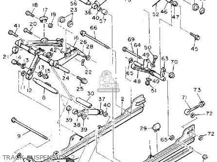 Yamaha Cs340et Ovation 1993 Track Suspension 2
