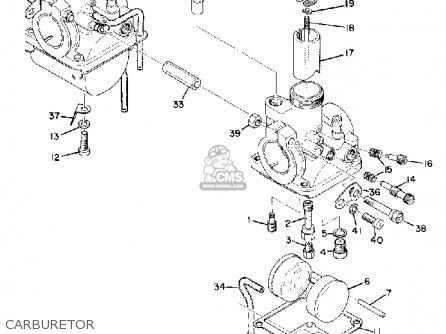 Yamaha Cs5 1972 Usa Carburetor