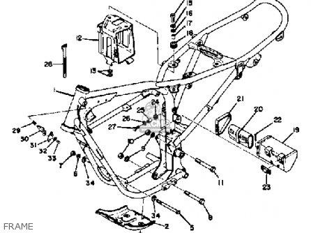 Yamaha Ct3 1973 Usa Frame