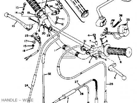 Yamaha Ct3 1973 Usa Handle - Wire