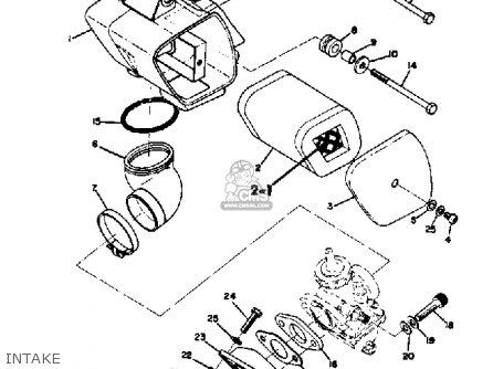 Yamaha Ct3 1973 Usa Intake
