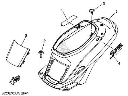 Yamaha Zuma Seat Cover