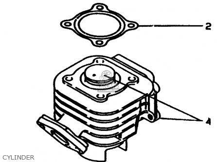 Yamaha Cw60k 1998 Cylinder