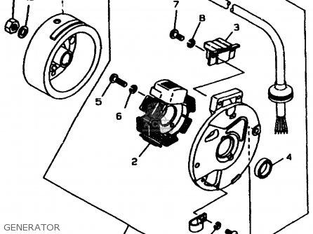 Yamaha Cw60k 1998 Generator